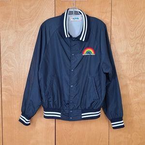 Alpha sportswear jacket-general paint rainbow-unisex